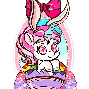 Easter Bunny Unicorn by frittata