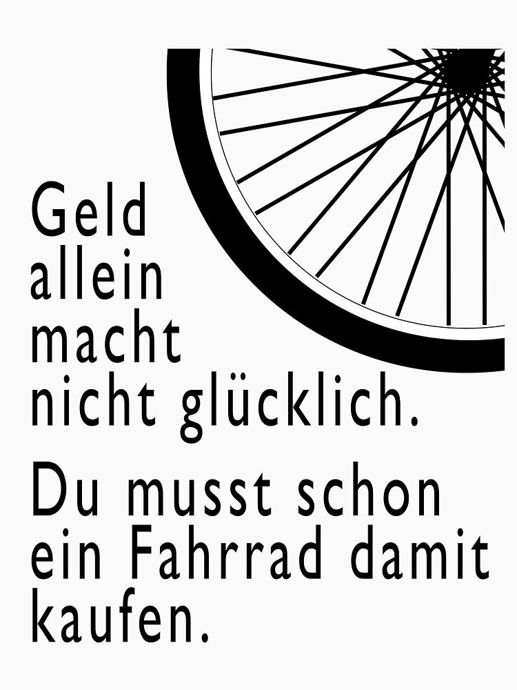 Geld macht nicht glücklich. Fahrrad kaufen by mostea84