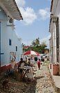 Market at Trinidad, Cuba by David Carton