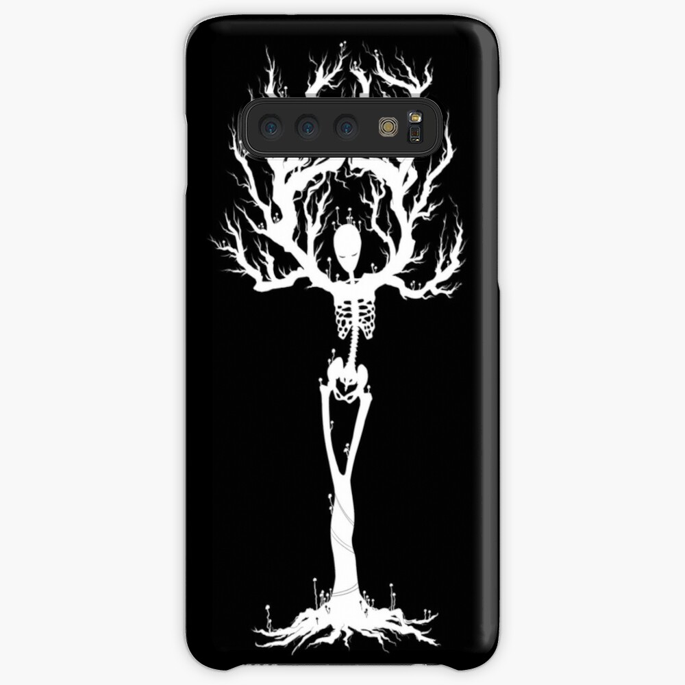 Tree of Death (White Vers.) Case & Skin for Samsung Galaxy