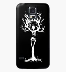 Funda/vinilo para Samsung Galaxy Tree of Death (White Vers.)