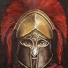 Leonidas  (King of Sparta) by Arturas Slapsys
