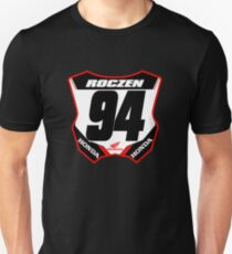 Ken Roczen #94 Number Plate Gift for Motocross and Supercross Fans Monster Energy Dirt Bike Racing Design Unisex T-Shirt