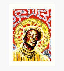 Grand Master Flash Art Print