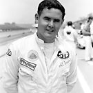 Al Unser Sr. - Indianapolis Motor Speedway 1966 by Vicki Pelham