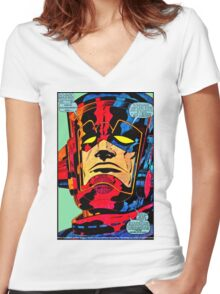Invictus Women's Fitted V-Neck T-Shirt