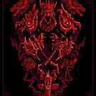 Warcraft Shaman Retro Insignia von Succulent Burger