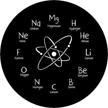 Chemieuhr für Liebhaber der Chemie von KsuAnn
