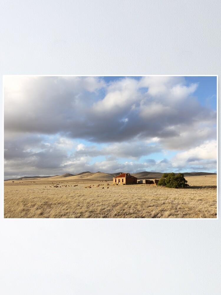 Alternate view of Burra Homestead, South Australia Poster