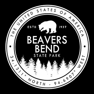 Beavers Bend State Park Oklahoma Emblem OK by fuller-factory