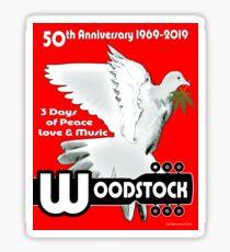 Woodstock: 3 Days of Peace, Love & Music Sticker