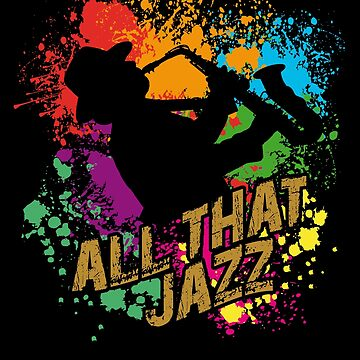 All That Jazz - Saxophone player by Vectorbrusher