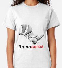 3D Cad/Cam/Cae Rhinoceros Designer Classic T-Shirt