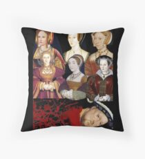 Heads Will Roll Throw Pillow