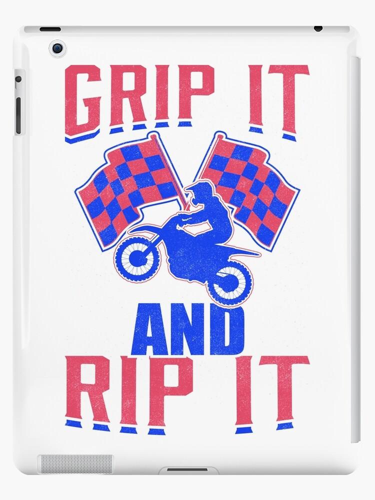 Motocross Dirt Bike Fassen Sie es und zerreißen Sie es von Gina Kellerup