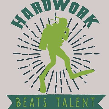 Hardwork beats talent by Faba188