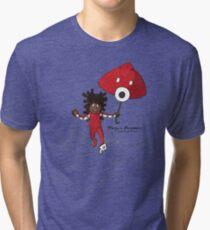 Umbrella Runner Tri-blend T-Shirt