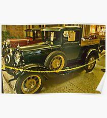 1930 Model A Truck Poster