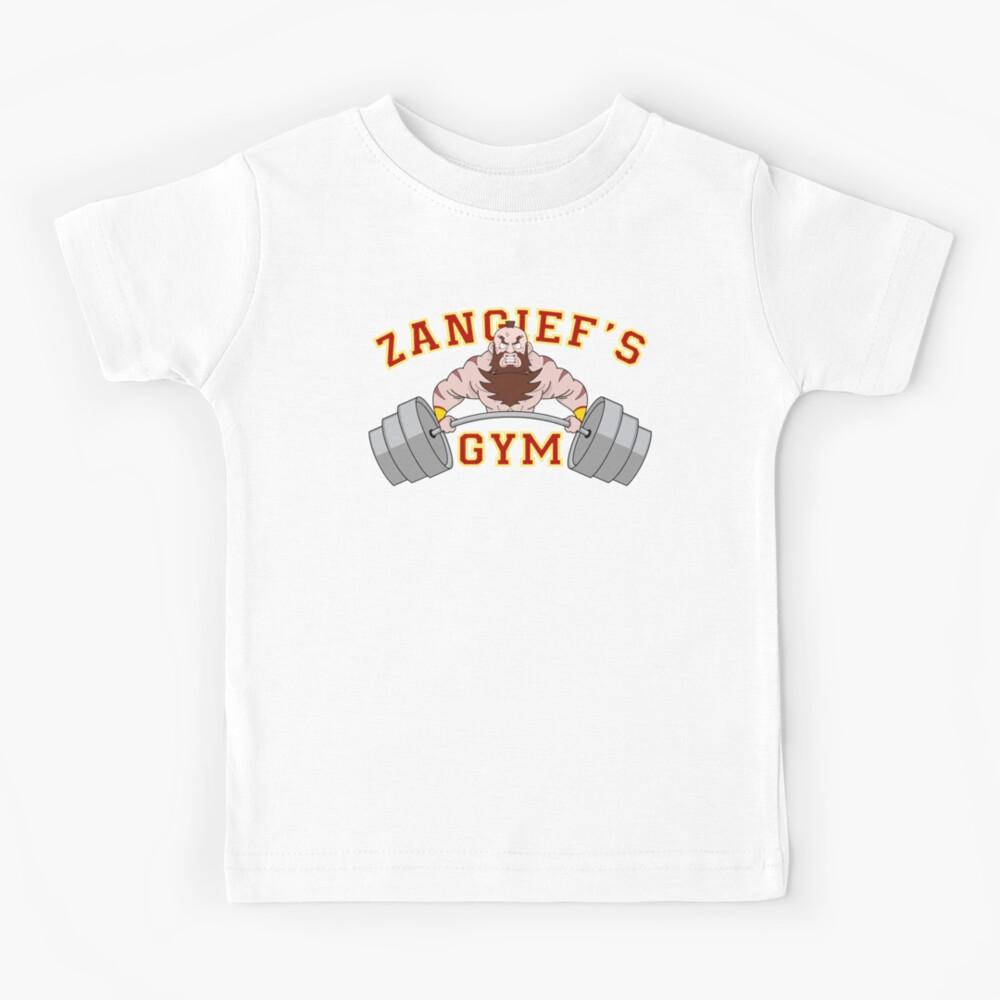 Zangief's Gym Kids T-Shirt
