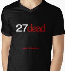 27dead logo white T-Shirt