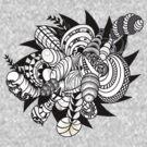 Tribal Abstract by Ewan Arnolda
