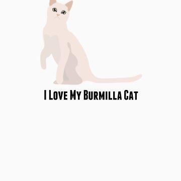 I Love My Burmilla Cat by rodie9cooper6