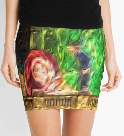 Snail in the Clocktower Mini Skirt