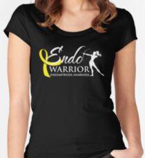 Endo Warrior Archer - Endometriosis Awareness Women's Fitted Scoop T-Shirt
