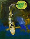 Bekko Butterfly Koi by Michael Creese