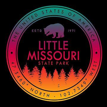 Little Missouri State Park North Dakota ND by fuller-factory