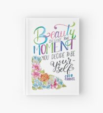 Beauty Begins the Moment you decide to be yourself - coco chanel Notizbuch