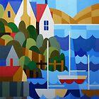 BATTERY POINT, HOBART, TASMANIA by Thomas Andersen