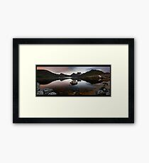Dove Lake Dawn Pan Framed Print