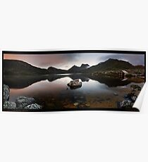 Dove Lake Dawn Pan Poster