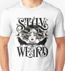 Rose and The Ravens {Stay Weird} Unisex T-Shirt