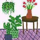 Potted plant IV by idriera