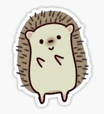 dancing hedgehog Sticker