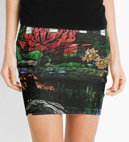 Flowers in the Clocktower Mini Skirt