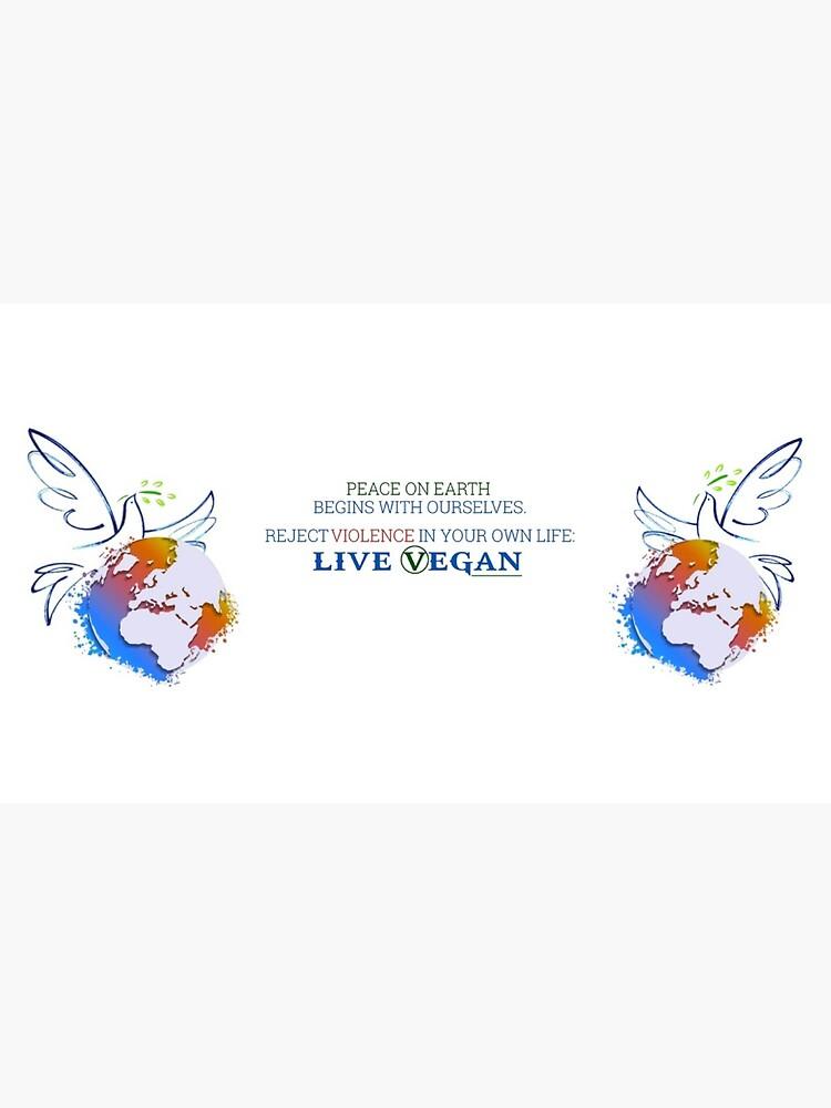 Live Vegan Ⓥ by WolfShadow27