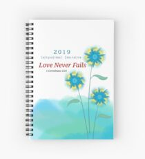 Love Never Fails #1b Spiral Notebook