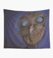 Magician's Owl Wall Tapestry