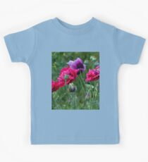 Colourful Poppies Kids Clothes