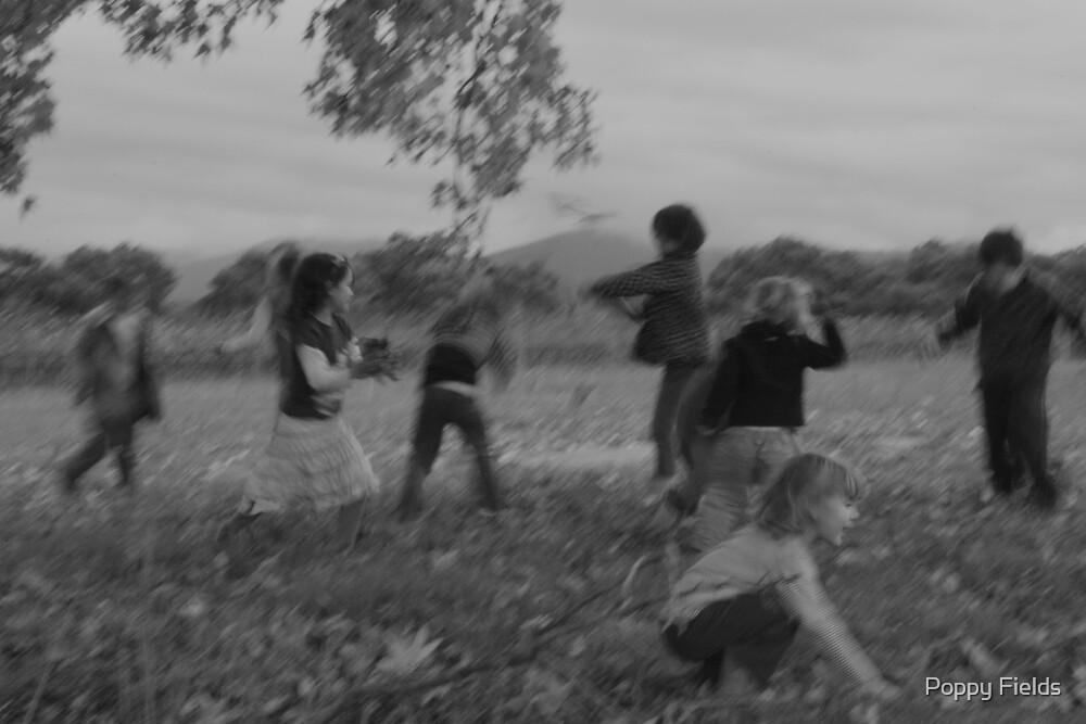 Leaf Fight! by Poppy Fields