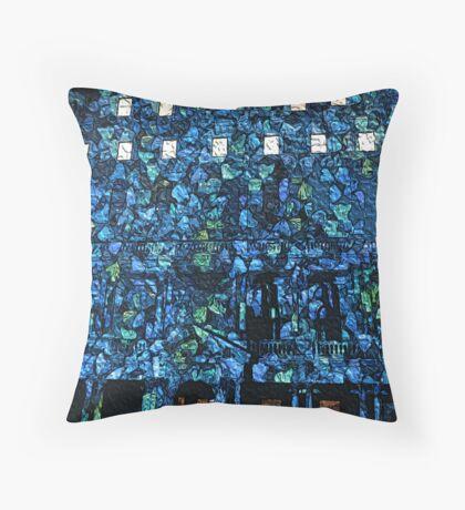 Butterflies in the Clocktower Throw Pillow