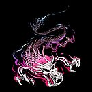 Chinese Skull Dragon by tobiasfonseca