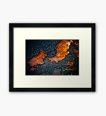 Elements of change Framed Print