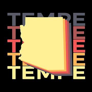 Tempe Arizona Souvenirs AZ Repeat by fuller-factory
