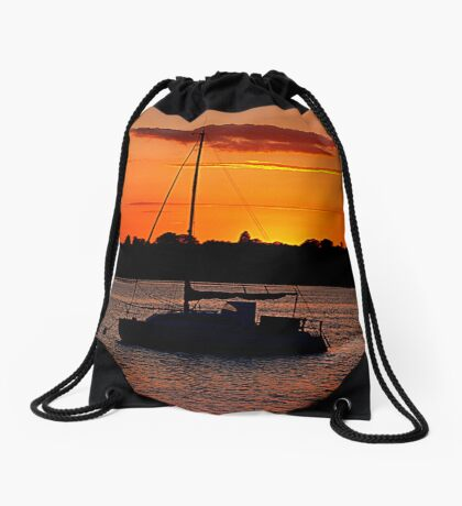 A Little Piece Of Heaven Drawstring Bag