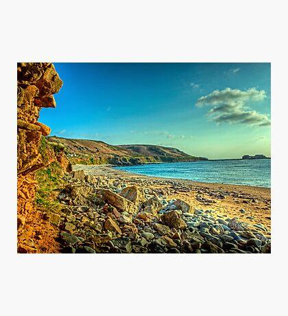 Clonque Bay - Alderny Photographic Print