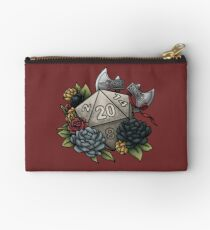 Barbarian Class D20 - Tabletop Gaming Dice Zipper Pouch